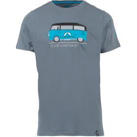 La Sportiva Van T-Shirt Herren slate
